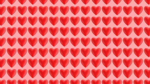 Kierowy czerwony wzór 3d odpłaca się ilustrację