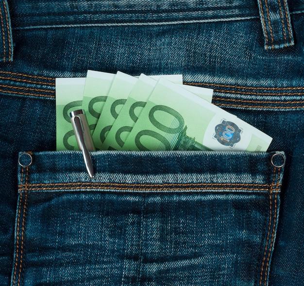 Kieszeń z euro