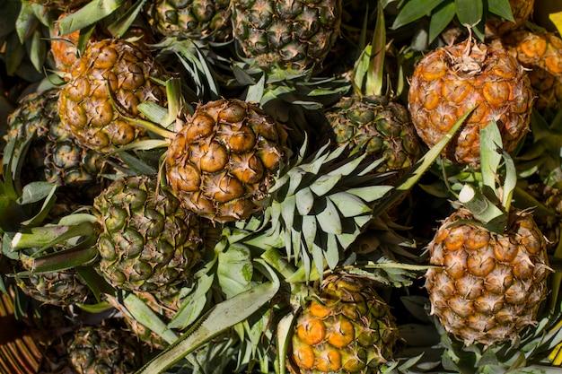 Kilka ananasów