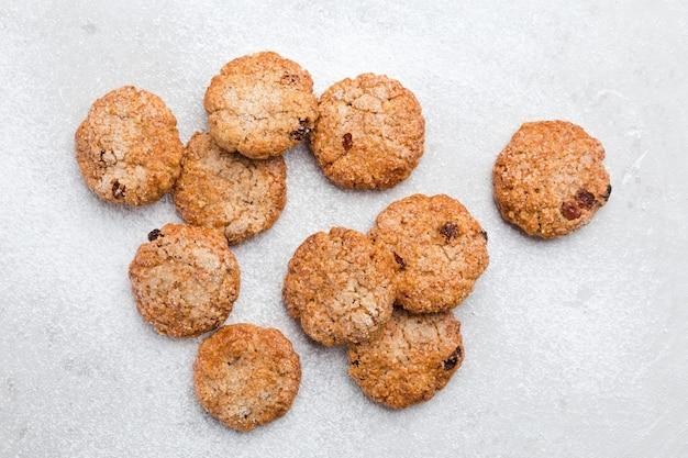 Kilka ciasteczek owsianych