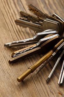 Kilka różnych kluczy