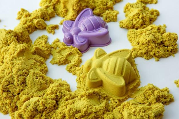 Kinetic sand figures kolorowe zabawki wczesna edukacja przygotowanie do rozwoju szkoły gra dla dzieci