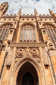 King's college chapel w cambridge w wielkiej brytanii