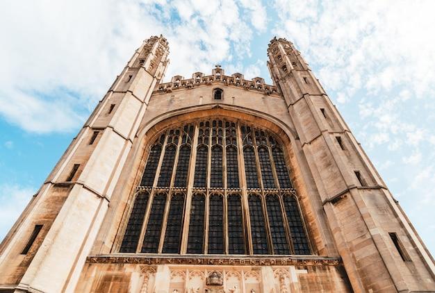 King's college chapel w cambridge, wielka brytania