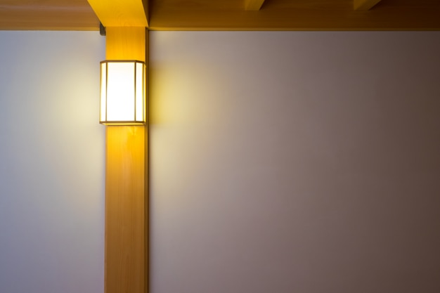 Kinkiet do sypialni, wewnętrzne oświetlenie do czytania.