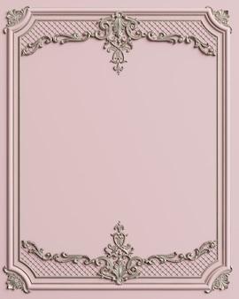 Klasyczna rama formująca z ornamentem
