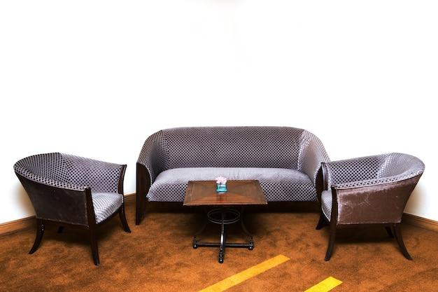 Klasyczny design i luksusowy styl skórzanej sofy