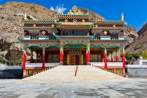 Klasztor buddyjski w kaza, dolina spiti