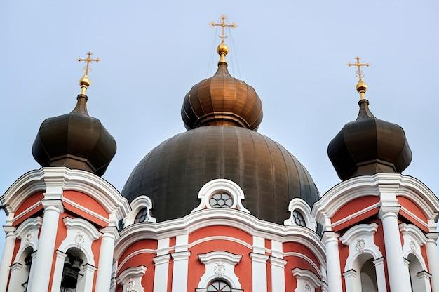Klasztor curchi w orhei, mołdawia