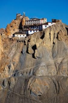 Klasztor dhankar, dolina spiti, himachal pradesh