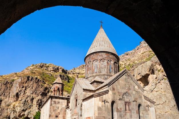 Klasztor geghard w armenii