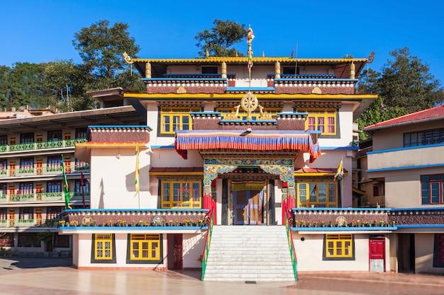 Klasztor gonjang, sikkim