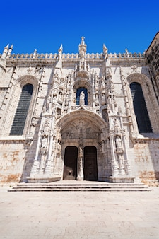 Klasztor hieronimitów lub klasztor hieronimitów znajduje się w lizbonie, portugalia