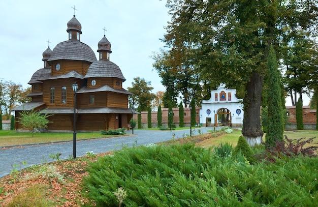Klasztor krechów w obwodzie lwowskim na ukrainie