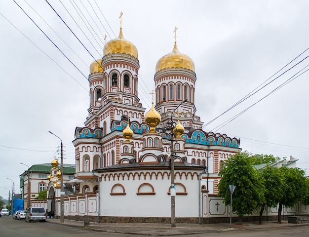 Klasztor prawosławny w czerniowcach, ukraina