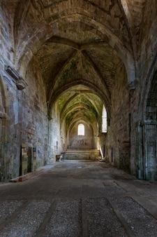 Klasztor santa maria de rioseco. burgos hiszpania.