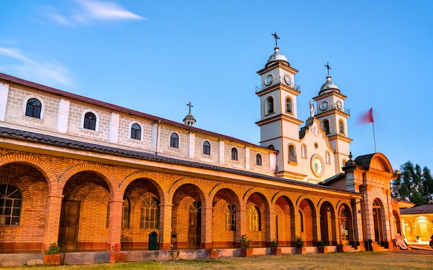 Klasztor santa rosa de ocopa w junin, peru