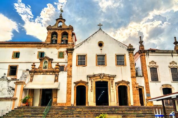 Klasztor santo antonio w rio de janeiro, brazylia