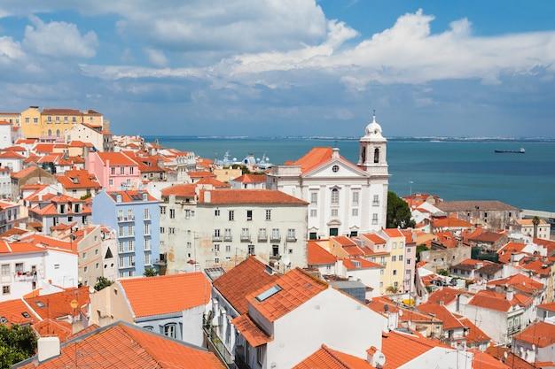 Klasztor sao vicente de fora to xvii-wieczny kościół i klasztor w lizbonie w portugalii