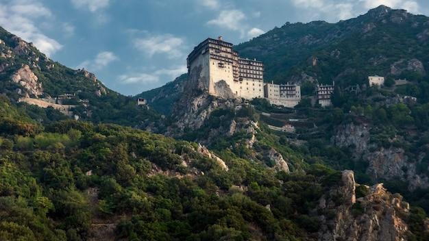 Klasztor simonopetra w athos