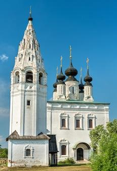 Klasztor św. aleksandra w suzdalu, złoty pierścień rosji