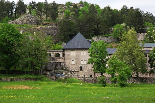 Klasztor w cetinje, czarnogóra