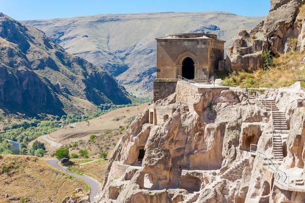 Klasztor w jaskini vardzia