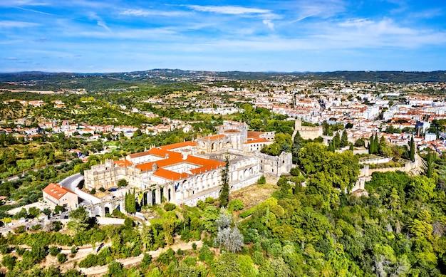 Klasztor zakonu chrystusa. w tomar, portugalia