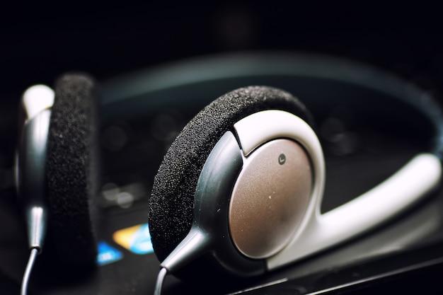 Klawiatura do słuchawek czarna