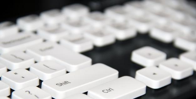 Klawiatura komputera close-up