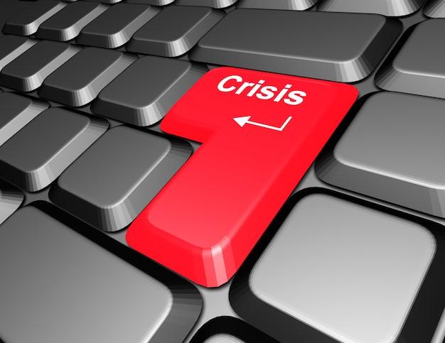 Klawiatura z przyciskiem kryzysowym