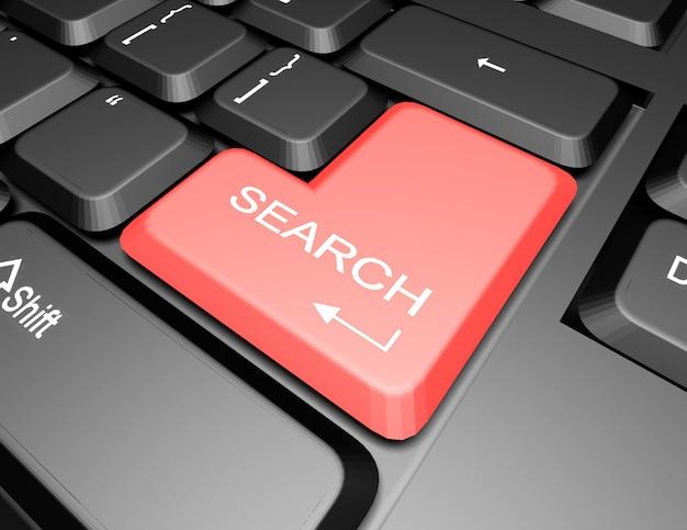 Klawiatura z przyciskiem wyszukiwania