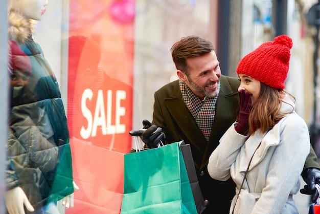 Klienci poza centrum handlowym