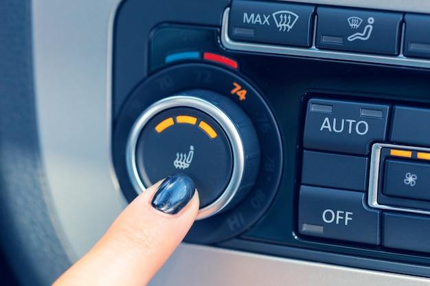 Klimatyzacja w nowym samochodzie