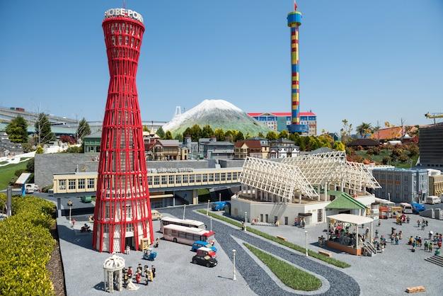 Kobe landmark model w legoland, nagoya