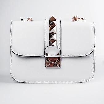 Kobieca biała torebka