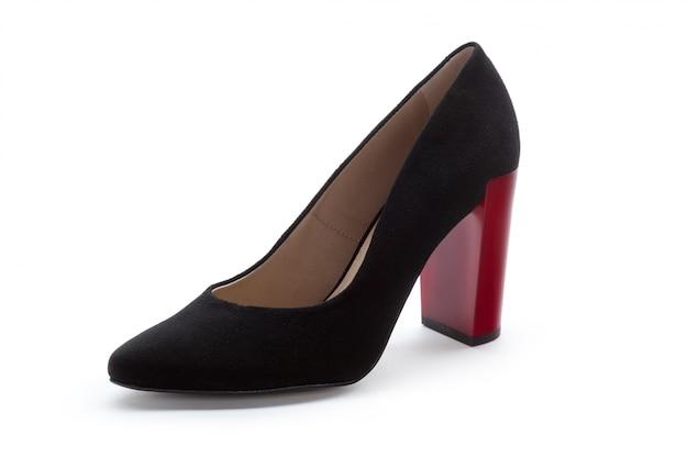 Kobiet szpilek buty odizolowywający na białym tle