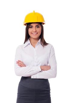 Kobieta architekt