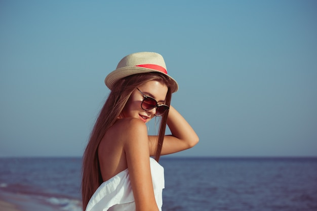 Kobieta lato wakacje