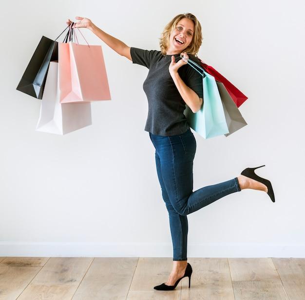 Kobieta lubi zakupy