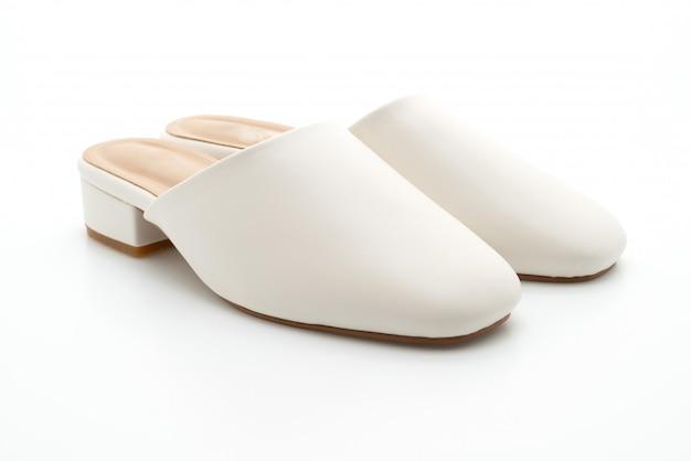 Kobieta moda skórzane buty