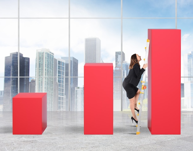 Kobieta na wadze osiąga najwyższą statystykę