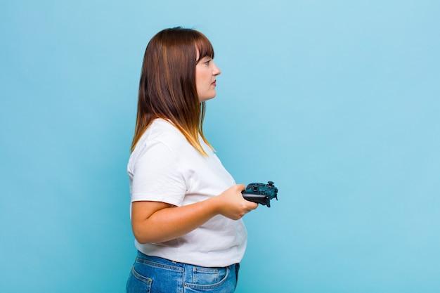 Kobieta na widoku profilu