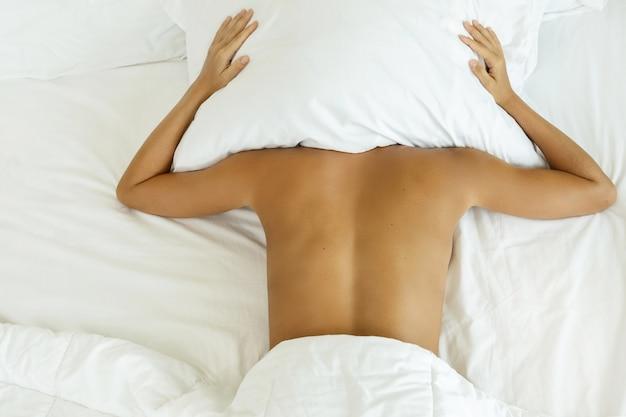 Kobieta nie chce się obudzić