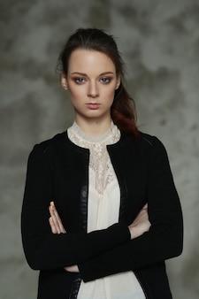 Kobieta pozowanie