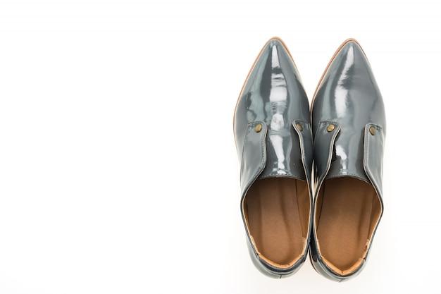 Kobieta skórzane buty
