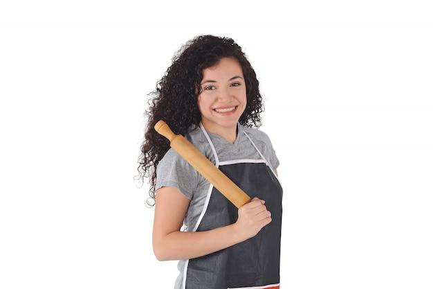 Kobieta szefa kuchni