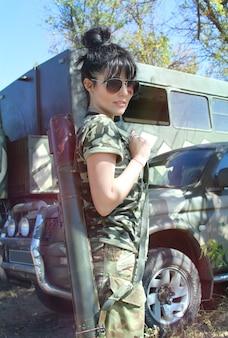 Kobieta wojskowa
