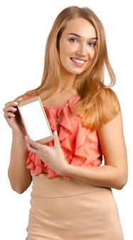 Kobieta z smartphone