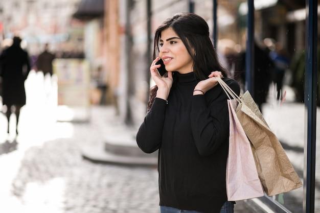 Kobieta zakupy